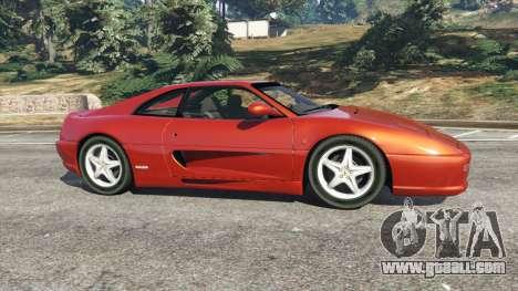 GTA 5 Ferrari F355 left side view
