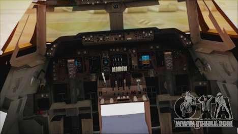 Boeing 747-237Bs Air India Samudragupta for GTA San Andreas right view