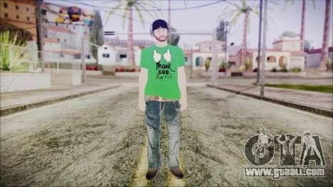 GTA Online Skin 16 for GTA San Andreas second screenshot