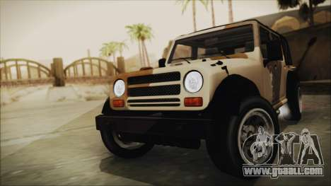 GTA 5 Canis Crusader for GTA San Andreas