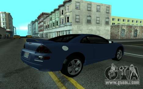 Mitsubishi Eclipse GTS Tunable for GTA San Andreas left view
