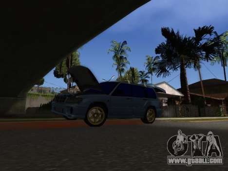Subaru Forester 1998 for GTA San Andreas right view