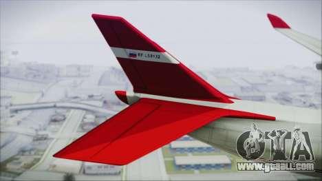 GTA 5 Cargo Plane for GTA San Andreas back left view