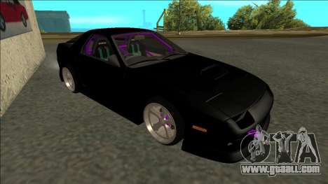 Mazda RX-7 FC Drift for GTA San Andreas left view