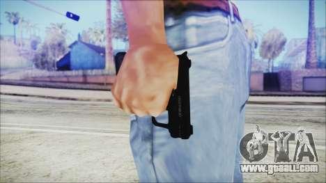 GTA 5 SNS Pistol v3 - Misterix Weapons for GTA San Andreas third screenshot