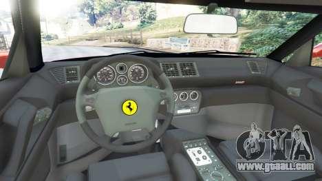 GTA 5 Ferrari F355 rear right side view