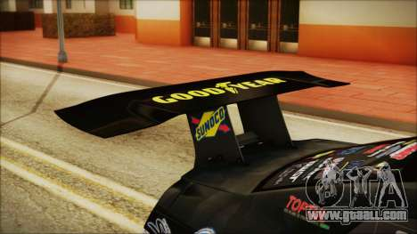 Nissan GT-R R35 Naoto for GTA San Andreas back view