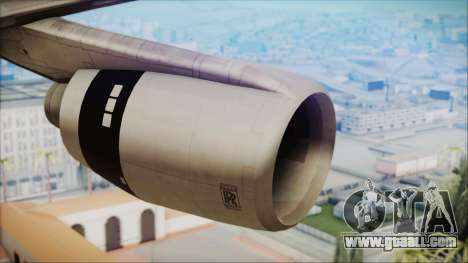 Lockheed L-1011 TriStar Prototype for GTA San Andreas right view