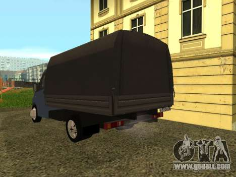 GAZelle Next for GTA San Andreas back left view