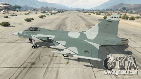 GTA 5 Saab JAS 39 Gripen NG FAB [Beta] second screenshot