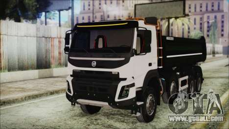 Volvo FMX Euro 6 Snow for GTA San Andreas