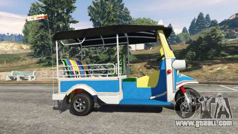 Tuk-Tuk for GTA 5