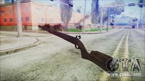 GTA 5 Musket - Misterix 4 Weapons for GTA San Andreas second screenshot