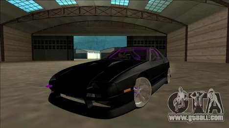 Mazda RX-7 FC Drift for GTA San Andreas inner view