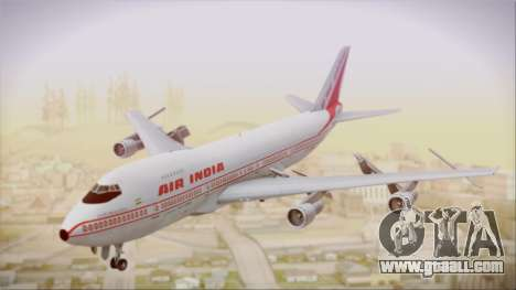 Boeing 747-237Bs Air India Samudragupta for GTA San Andreas