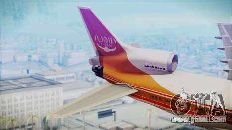 Lockheed L-1011 TriStar Prototype for GTA San Andreas back left view