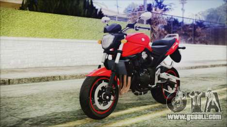 Suzuki Bandit 1250N for GTA San Andreas