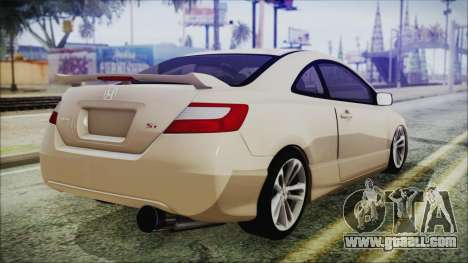 Honda Civic for GTA San Andreas left view