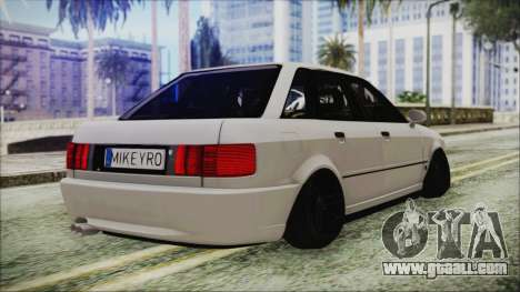 Audi 80 B4 RS2 New for GTA San Andreas left view