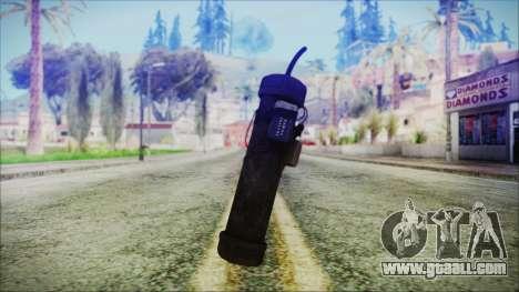 Pipe Bomb Reborn for GTA San Andreas
