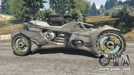GTA 5 Batmobile Mk2 v0.9 left side view