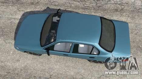 Toyota Corolla 1.6 XEI v1.02 for GTA 5
