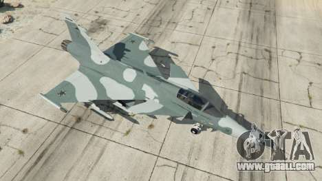 GTA 5 Saab JAS 39 Gripen NG FAB [Beta] fourth screenshot