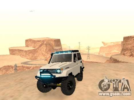 Toyota Machito Off-Road (IVF) 2009 for GTA San Andreas right view