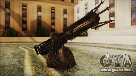 Fallout 4 Shredding Minigun for GTA San Andreas