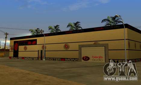 Monster Beats Studio by 7 Pack for GTA San Andreas