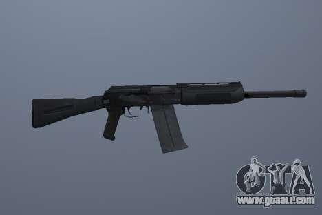 Saiga-12 for GTA San Andreas third screenshot