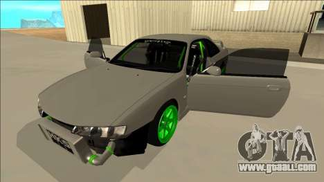Nissan Silvia S14 Drift Monster Energy for GTA San Andreas side view