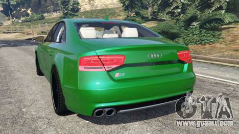 GTA 5 Audi S8 Quattro 2013 rear left side view