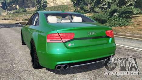 Audi S8 Quattro 2013 for GTA 5