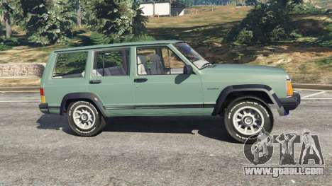 GTA 5 Jeep Cherokee XJ 1984 [Beta] left side view