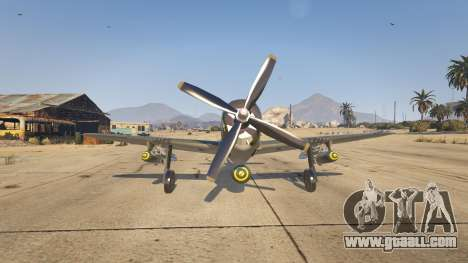 GTA 5 P-47D Thunderbolt third screenshot