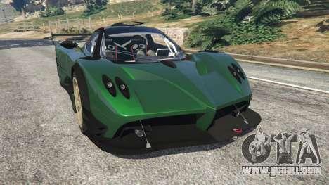 Pagani Zonda R v0.91 for GTA 5