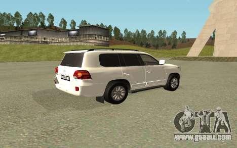 Toyota Land Cruiser 200 Bulkin Edition for GTA San Andreas left view