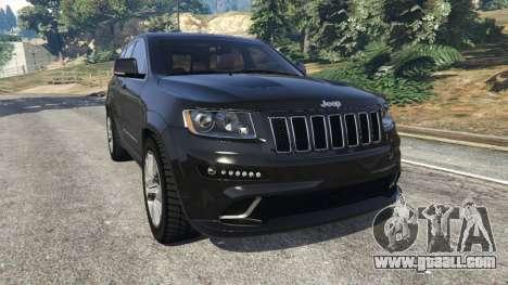 Jeep Grand Cherokee SRT8 2013 for GTA 5