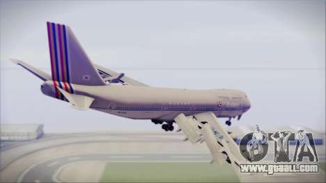 Boeing 747-48E Asiana Airlines for GTA San Andreas left view