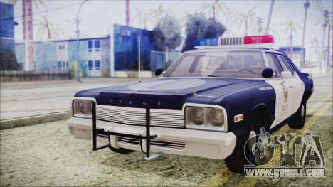Dodge Monaco 1974 LSPD Highway Patrol Version for GTA San Andreas
