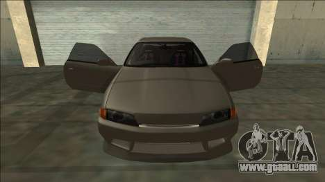 Nissan Skyline R32 Drift for GTA San Andreas wheels