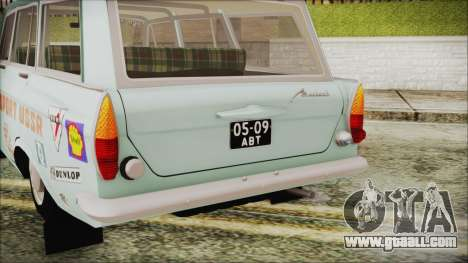 Moskvich 427 Rally v0.5 for GTA San Andreas back view