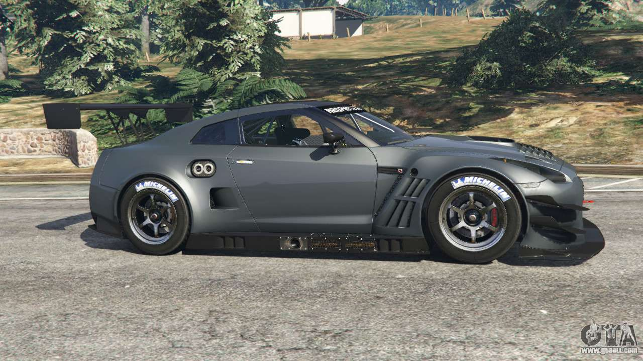 Nissan gt r nismo gt3 for gta 5