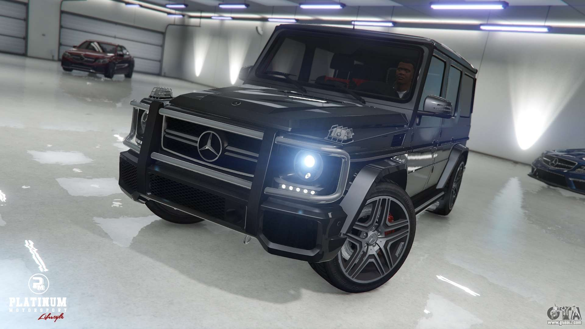 Mercedes benz g63 amg v1 for gta 5 for Mercedes benz gta