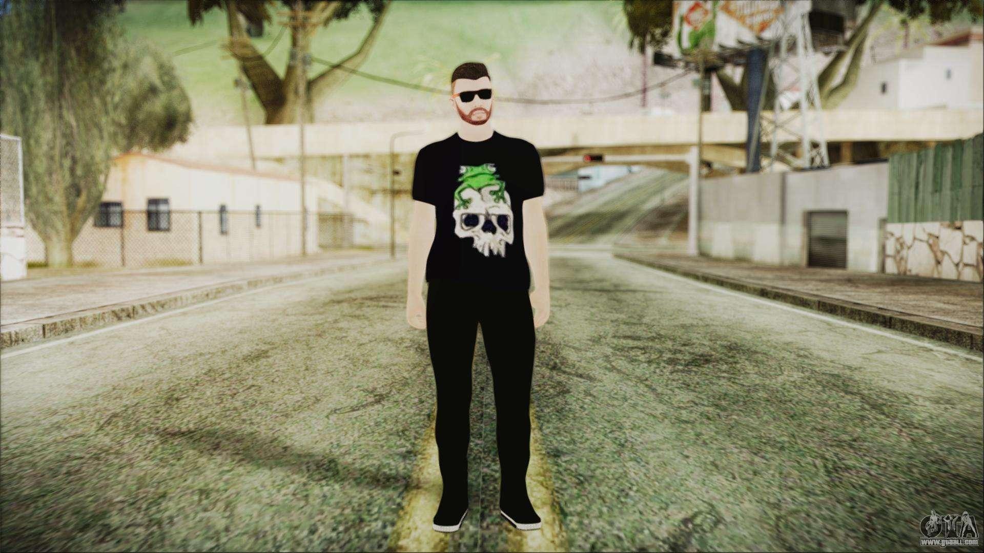 Skin Momiji Gta Sa: GTA Online Skin 24 For GTA San Andreas
