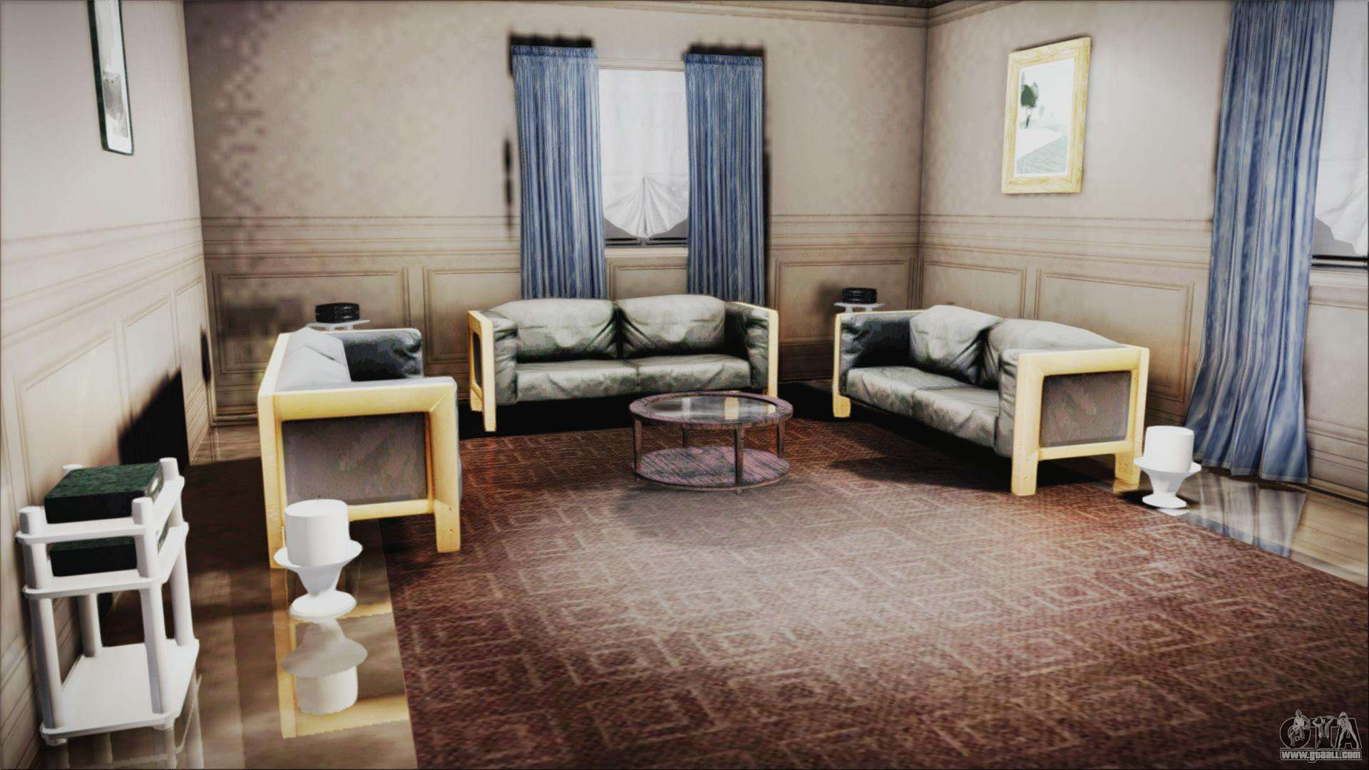 Cj house new interior for gta san andreas - New homes interior ...