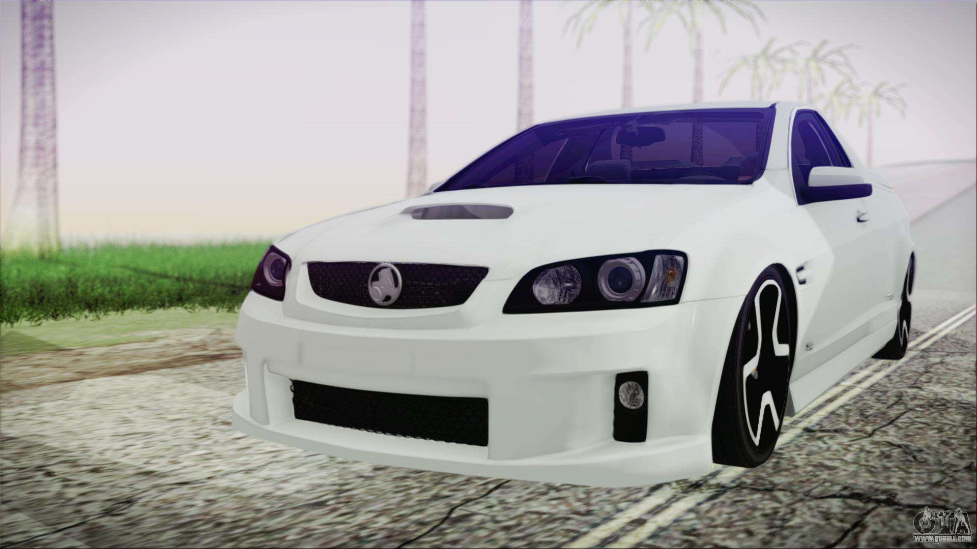 Holden Commodore Ss Ute 2012 For Gta San Andreas
