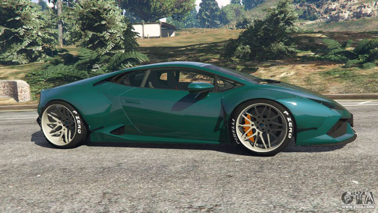lamborghini huracan libertywalk v1 1 for gta 5. Black Bedroom Furniture Sets. Home Design Ideas
