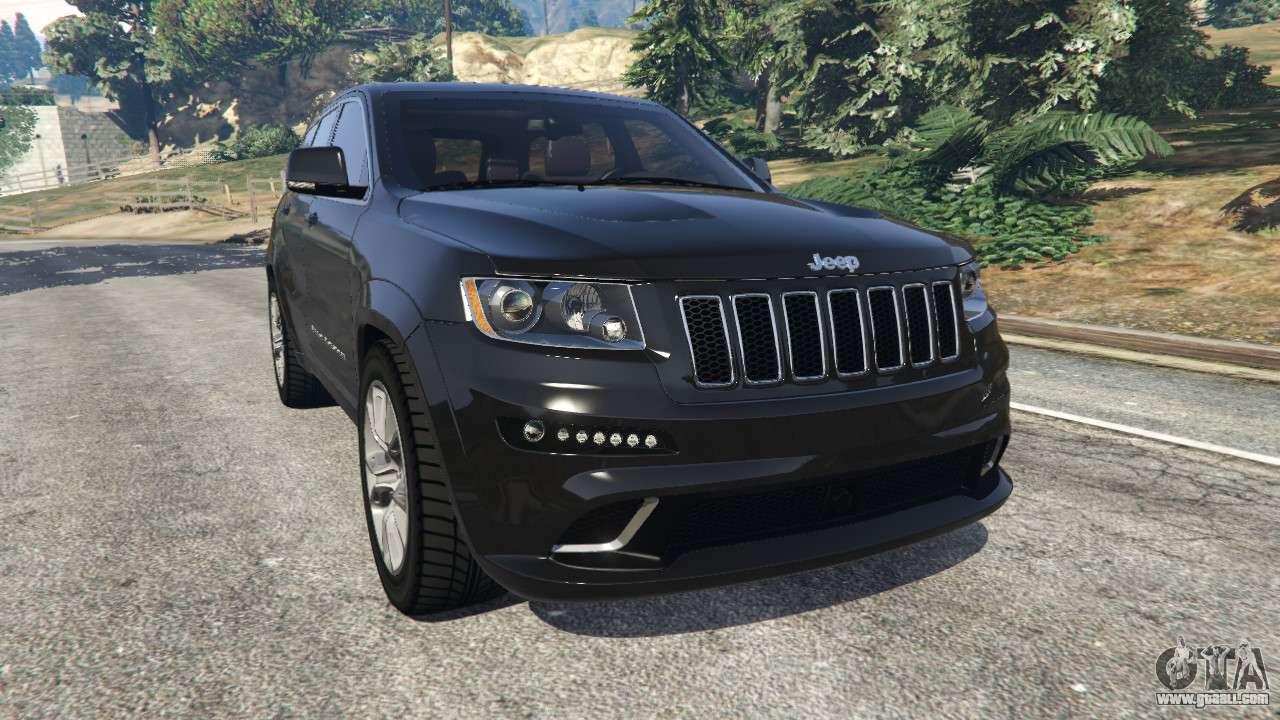 jeep grand cherokee srt8 2013 for gta 5. Black Bedroom Furniture Sets. Home Design Ideas